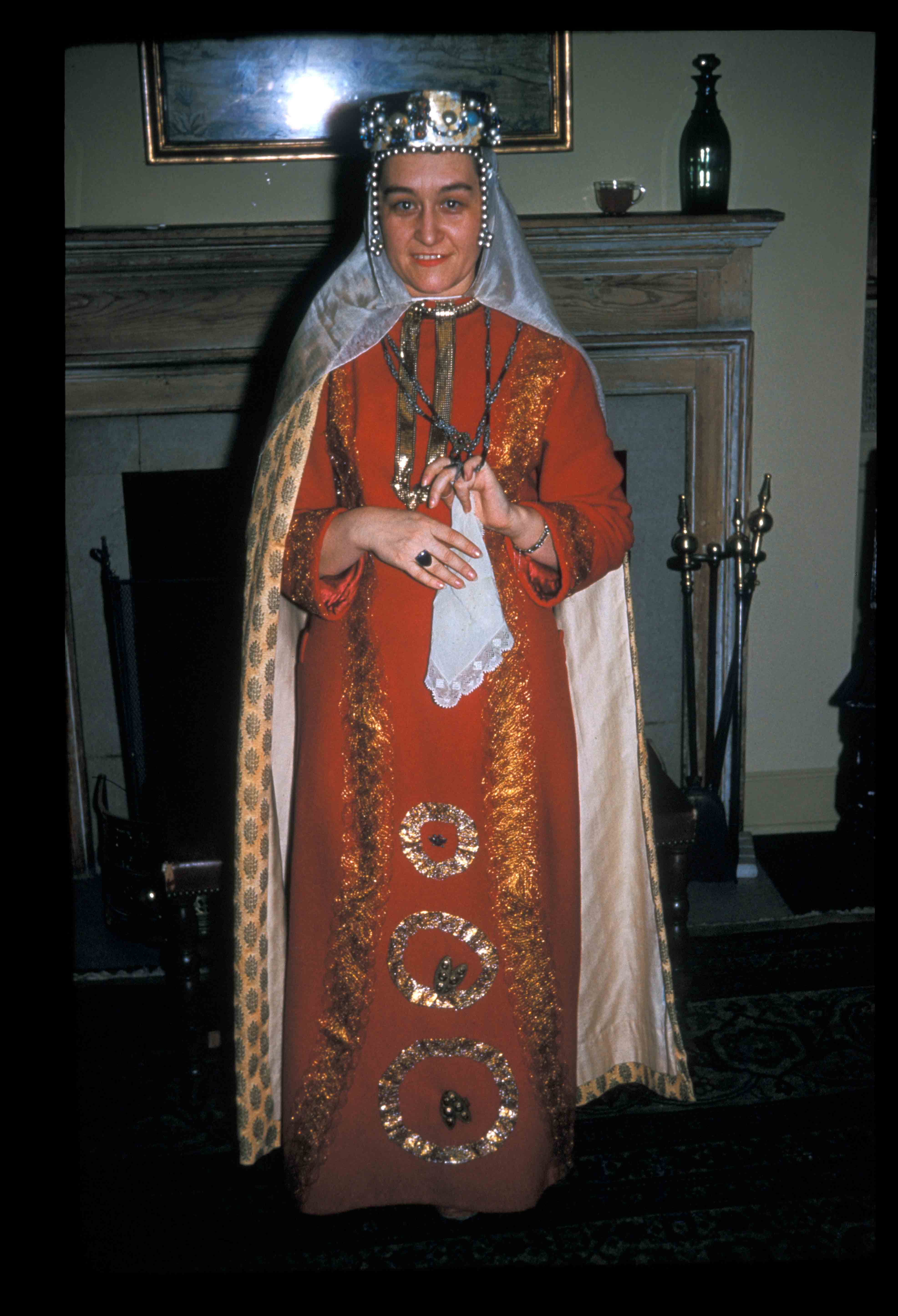 Gordana Babić (Byzantine Junior Fellow) as a Serbian princess.