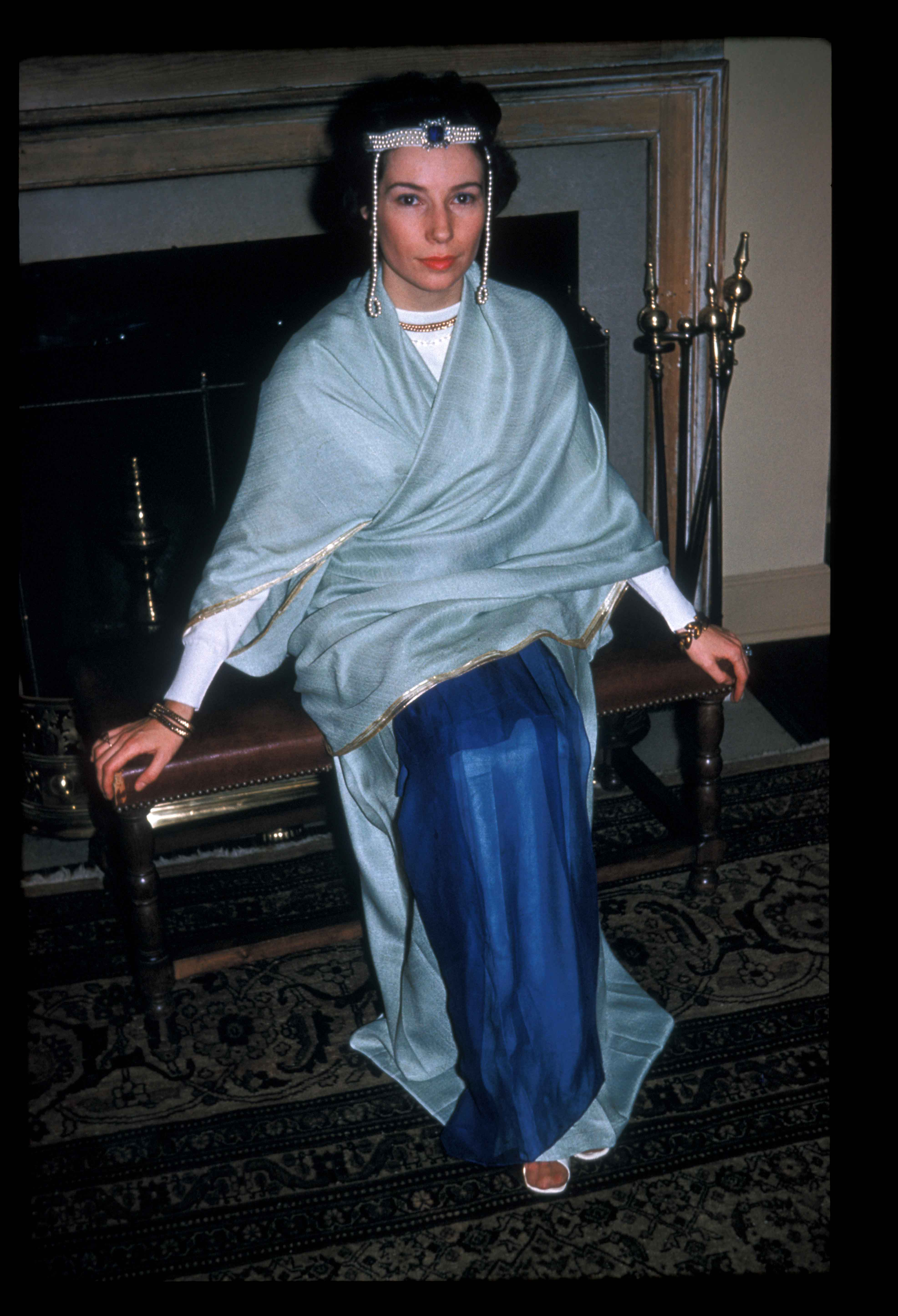 Jacqueline Lafontaine as Anicia Juliana. Dumbarton Oaks Archives, AR.PH.Misc.227.