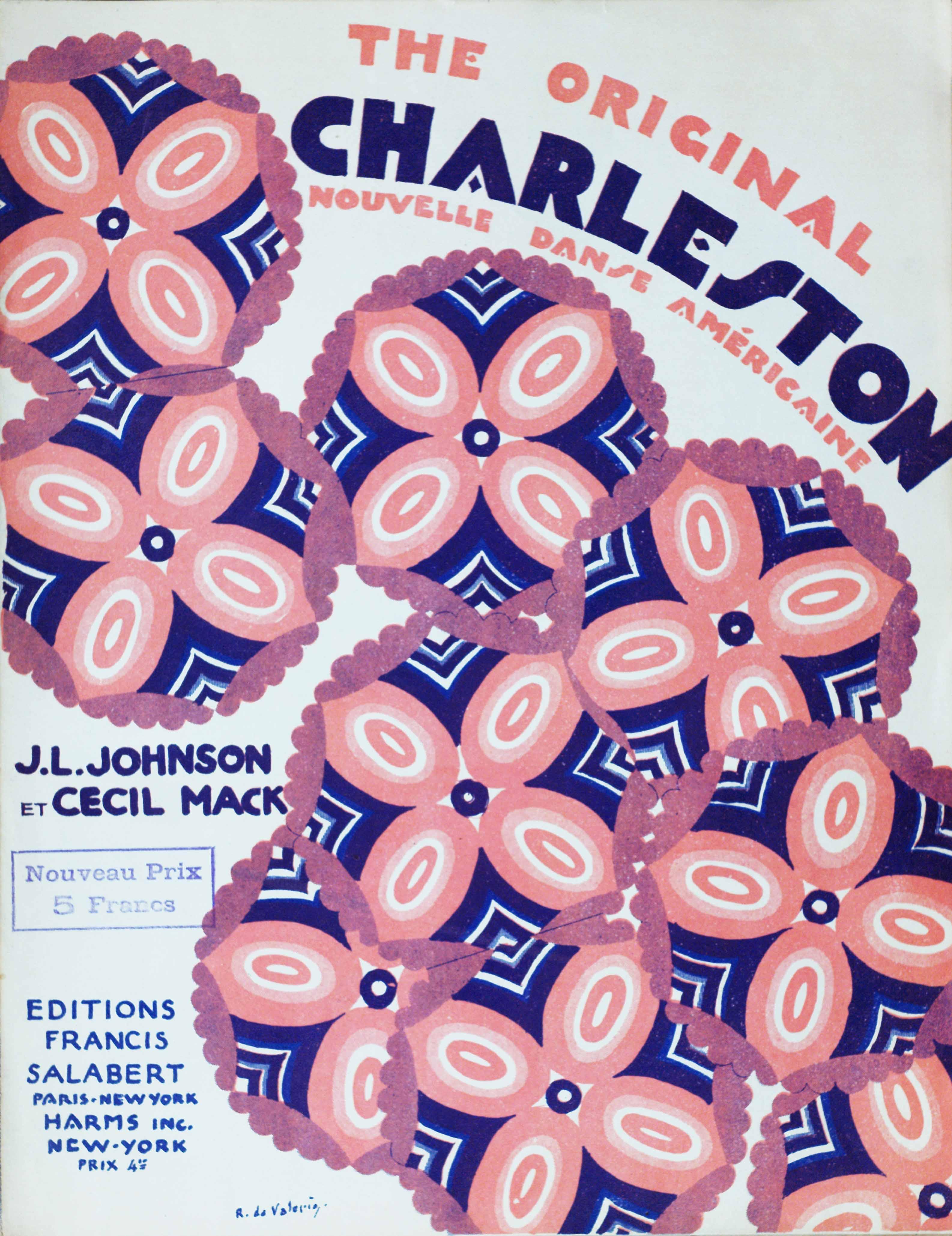 "J. L. Johnson and Cecil Mack's ""The Original Charleston"""