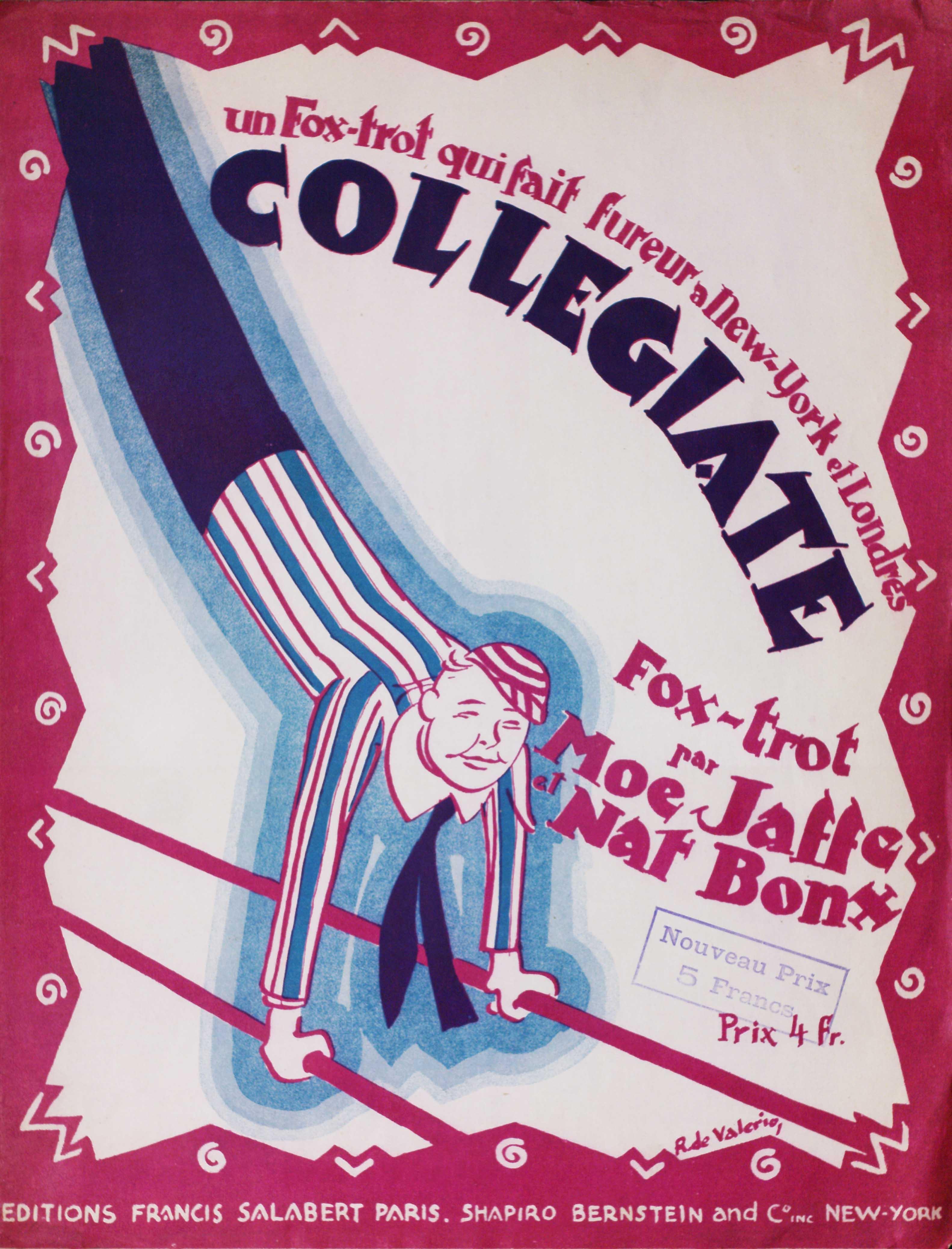 "Moe Jaffe and Nat Bonx's ""Collegiate Fox Trot"""
