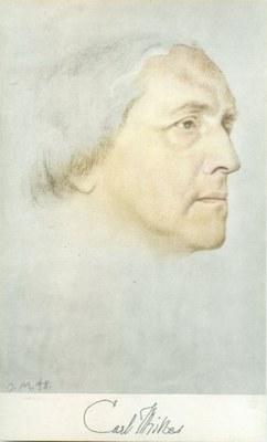 Carl Milles Portrait by Olga Milles