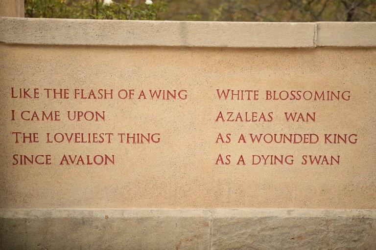 Azalea Inscription, Reconstruction, 2016