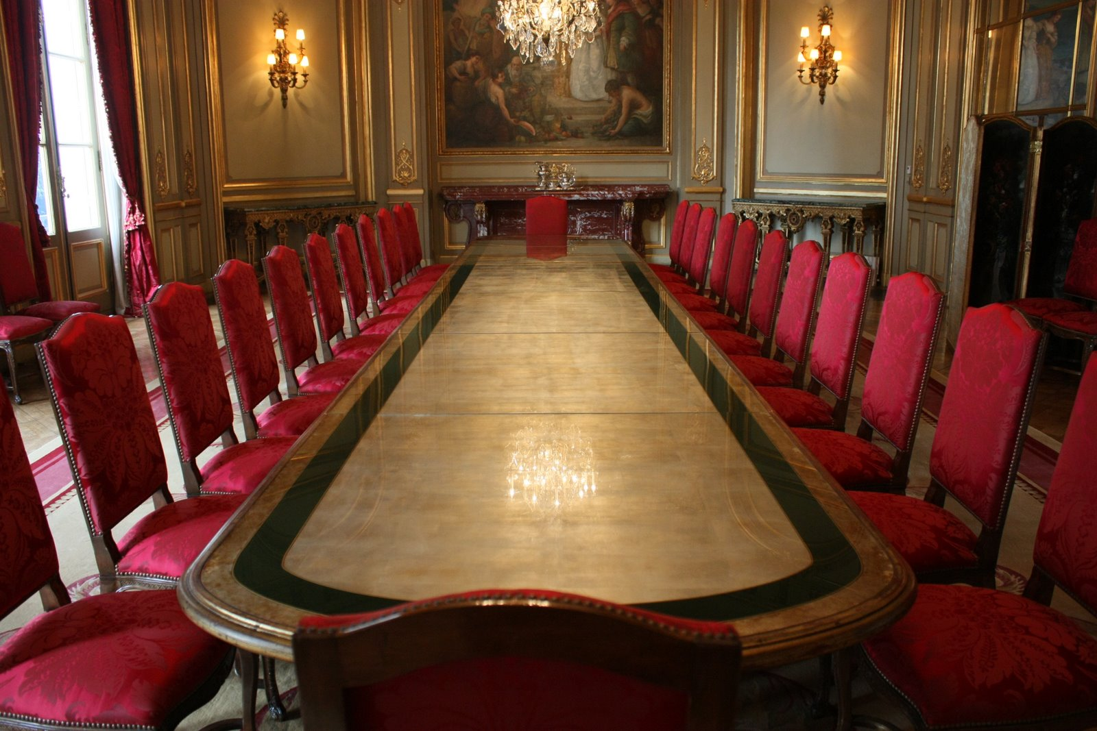 bosch palace, dining room as presently furnished — dumbarton oaks