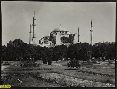 Hagia Sophia, Exterior view from grounds