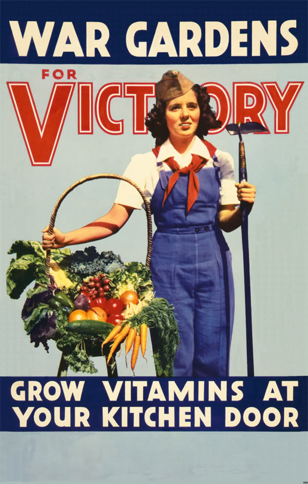 WWII Victory Garden Poster