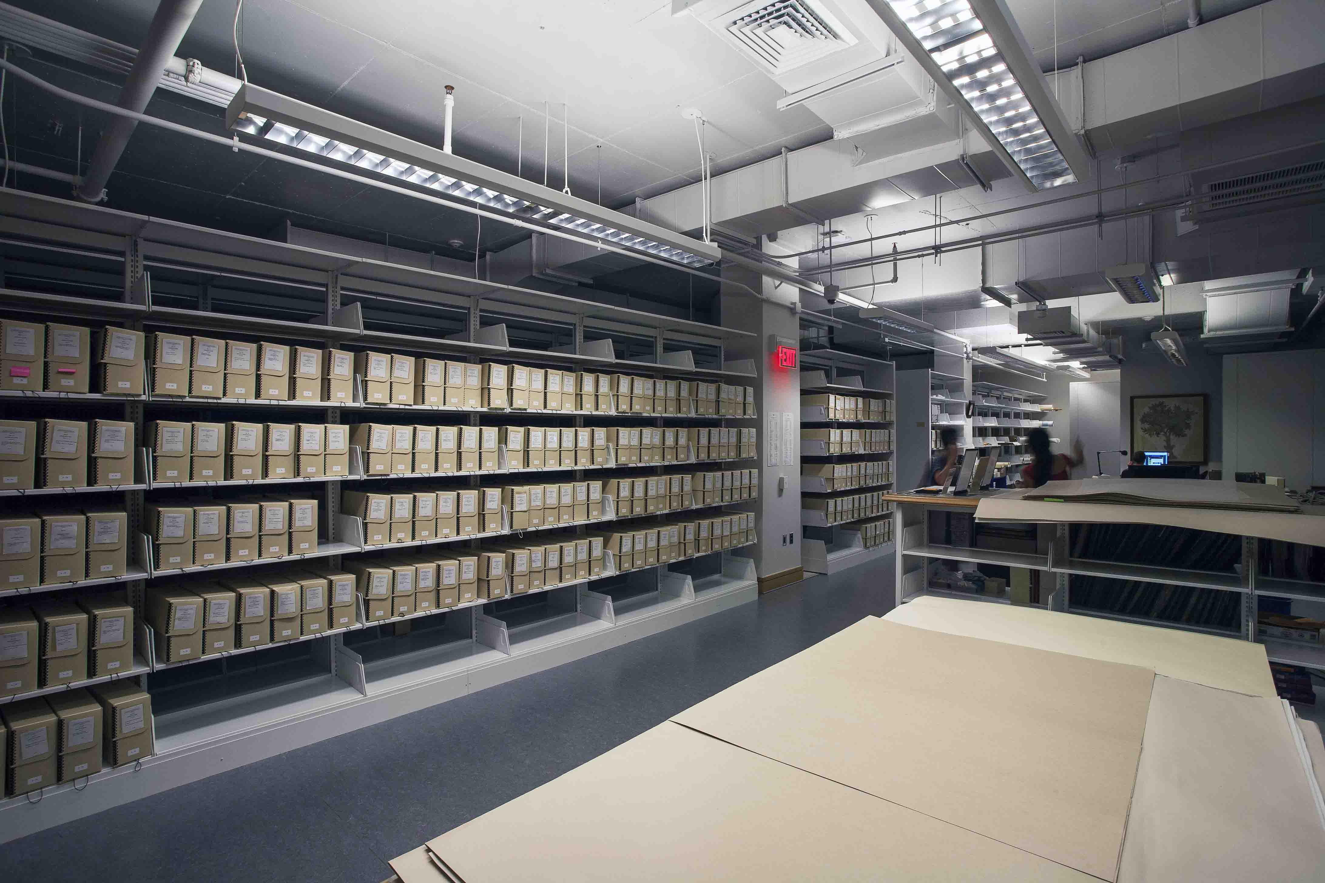 ICFA in new library