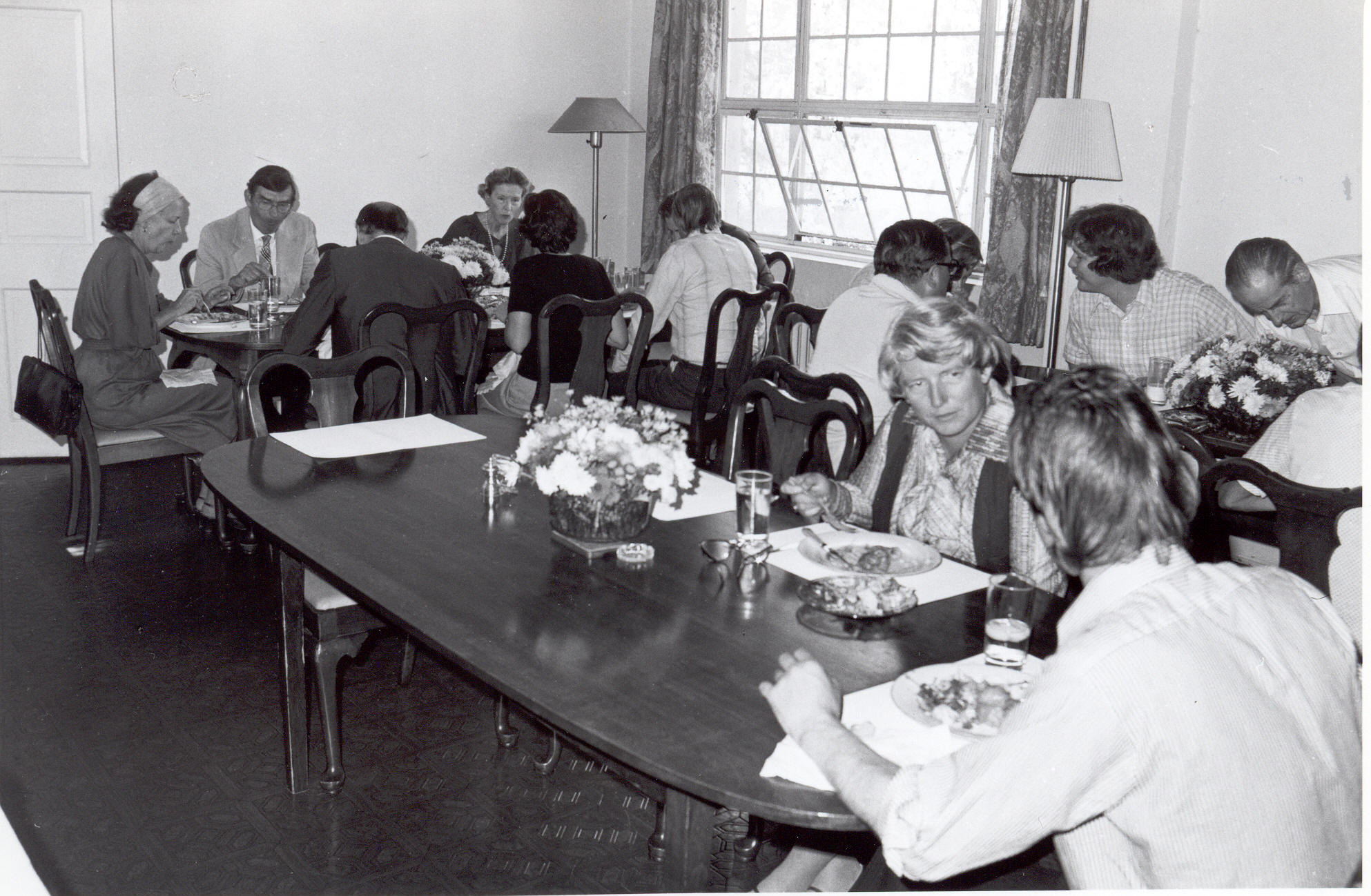 Fellows Building Dining Room