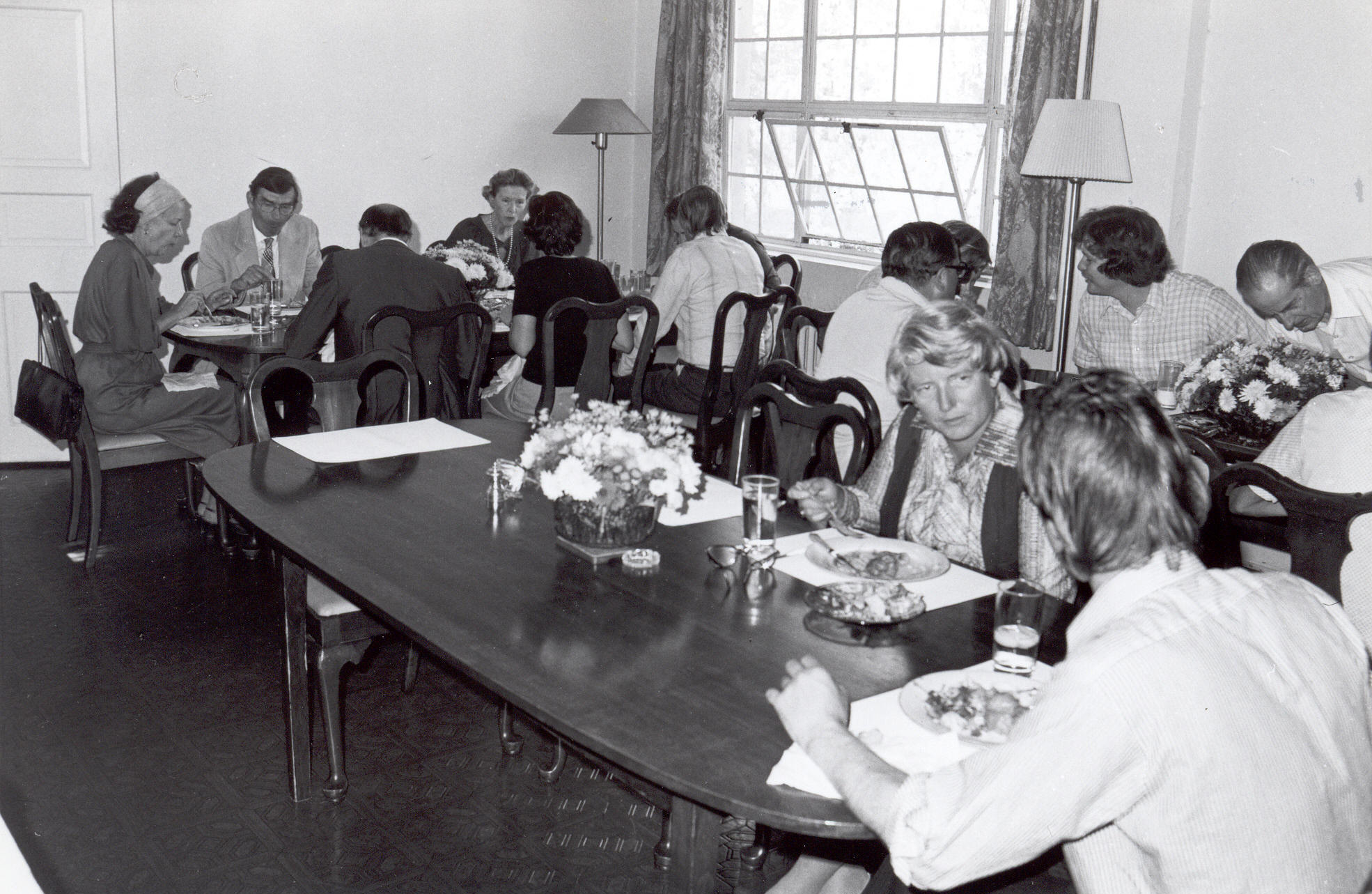 Fellows Building Dining Room, 1977-78