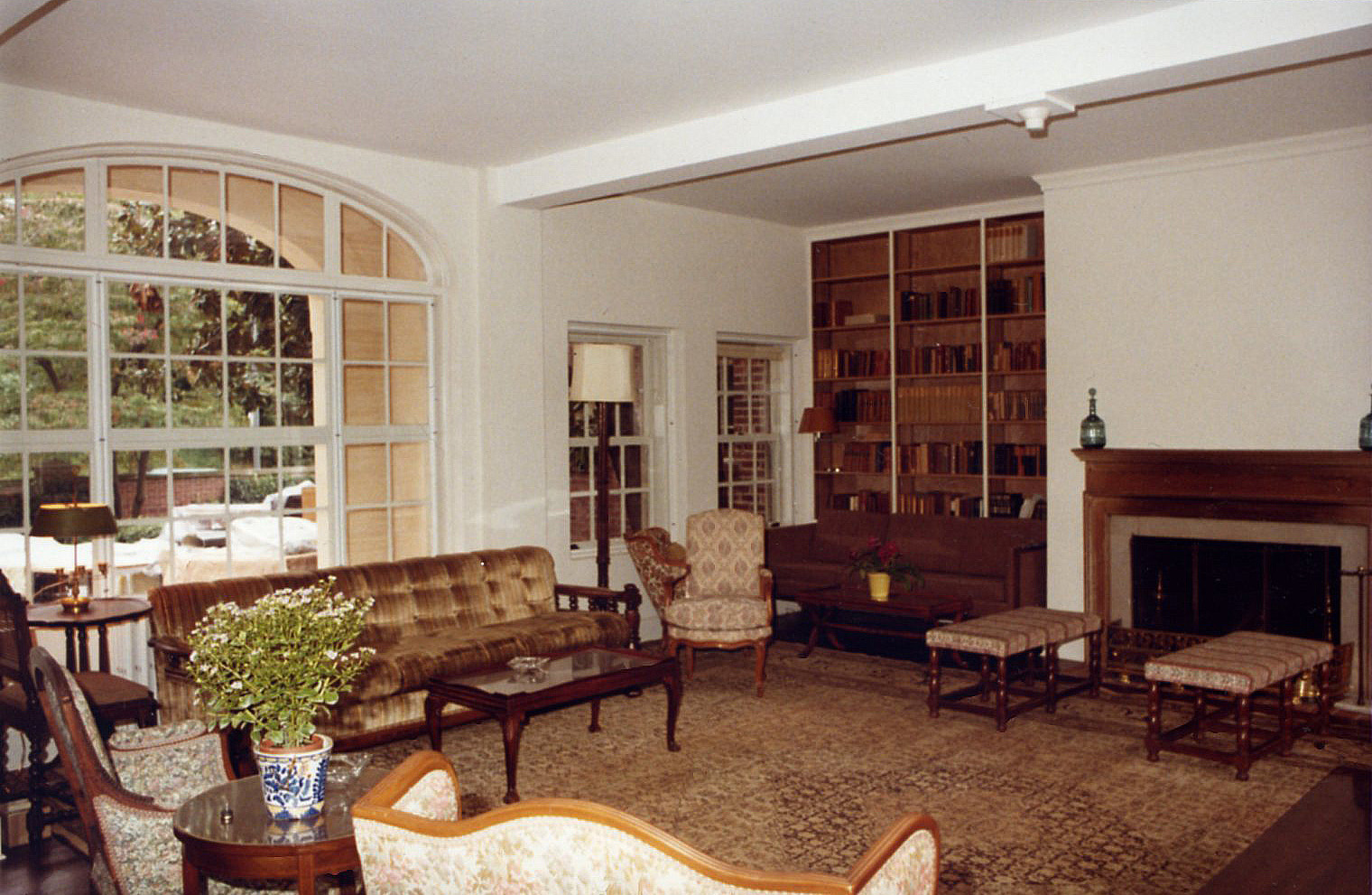 Fellows Building Living Room, 1981