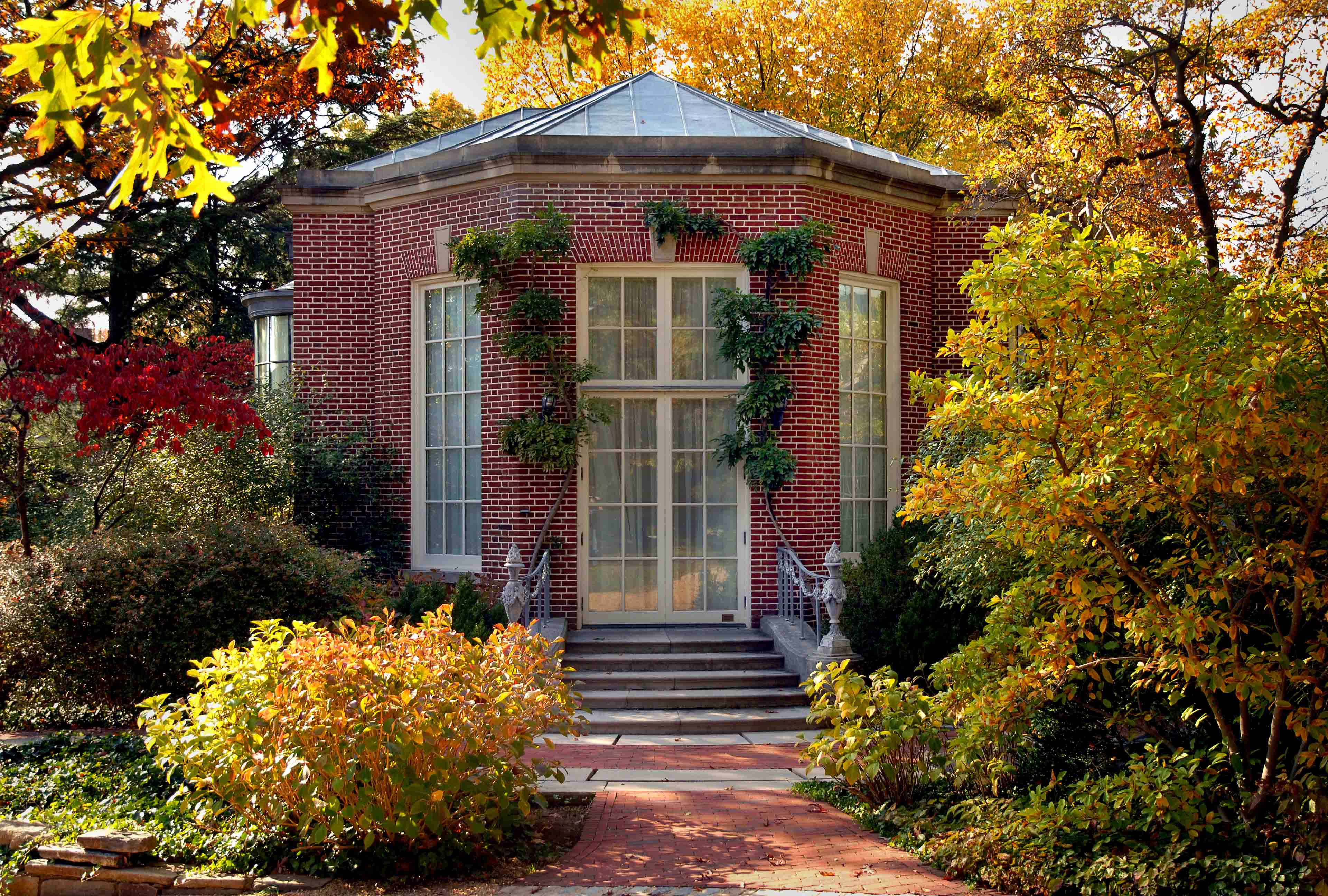 Frederic Rhinelander King's Garden Library for Dumbarton Oaks