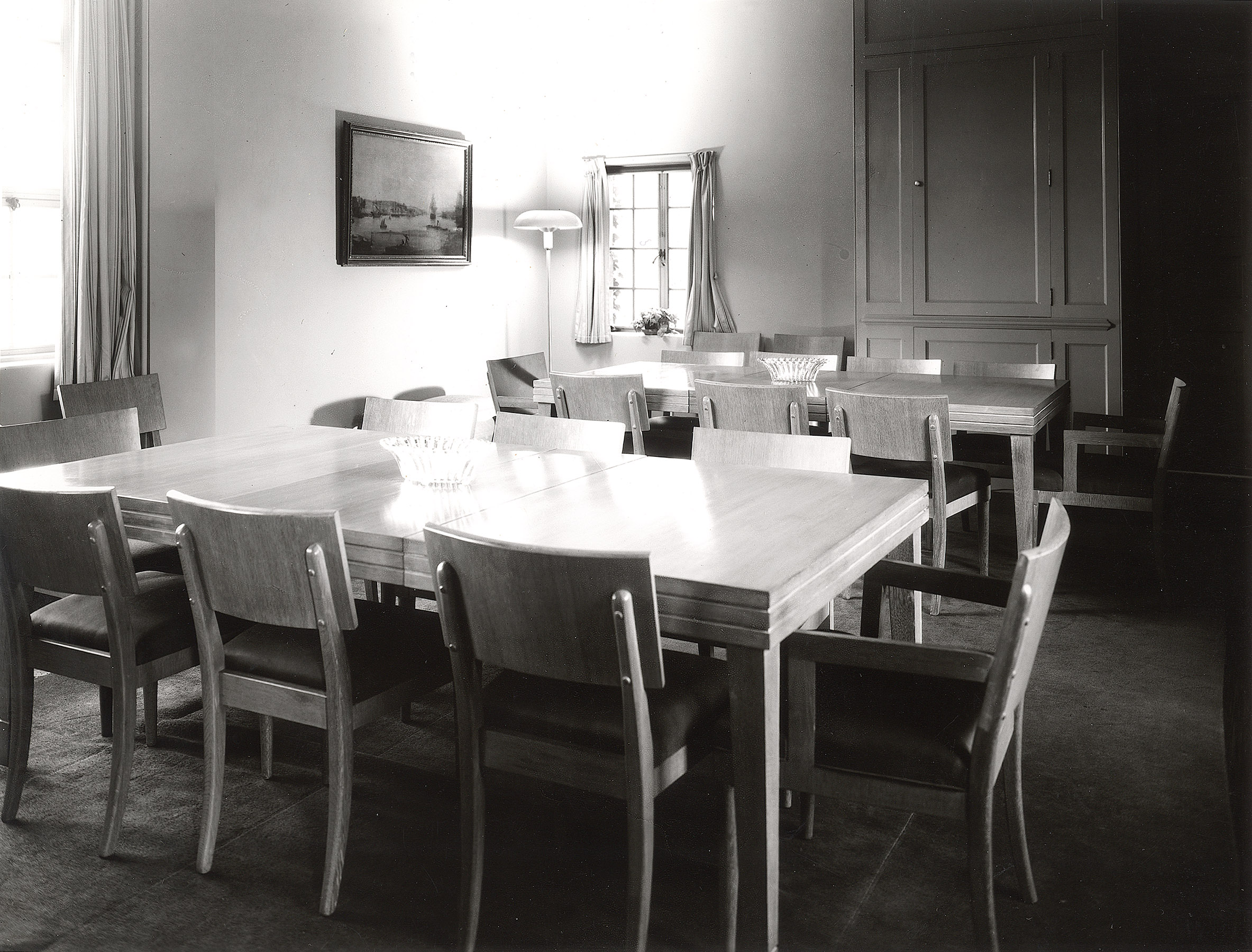 Fellows Building Dining Room, 1953