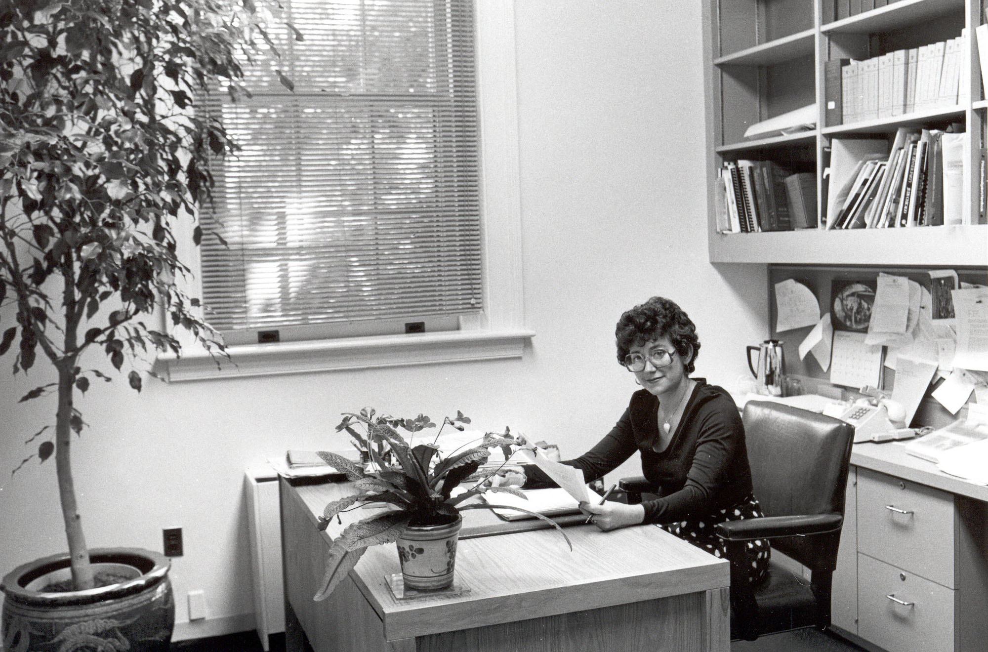 Office of the Assistant Director, Judy Siggins, 1978