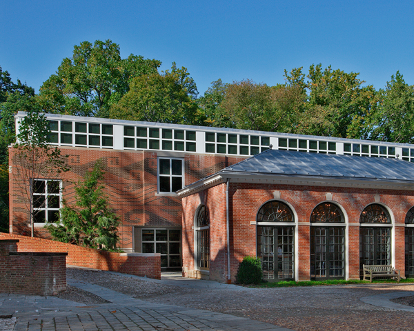 The Dumbarton Oaks Library commissioned by Ned Keenan and opened in 2005