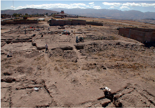 Fig. 2: Excavations at Conchopata (Cook and Isbell 2000–2001)