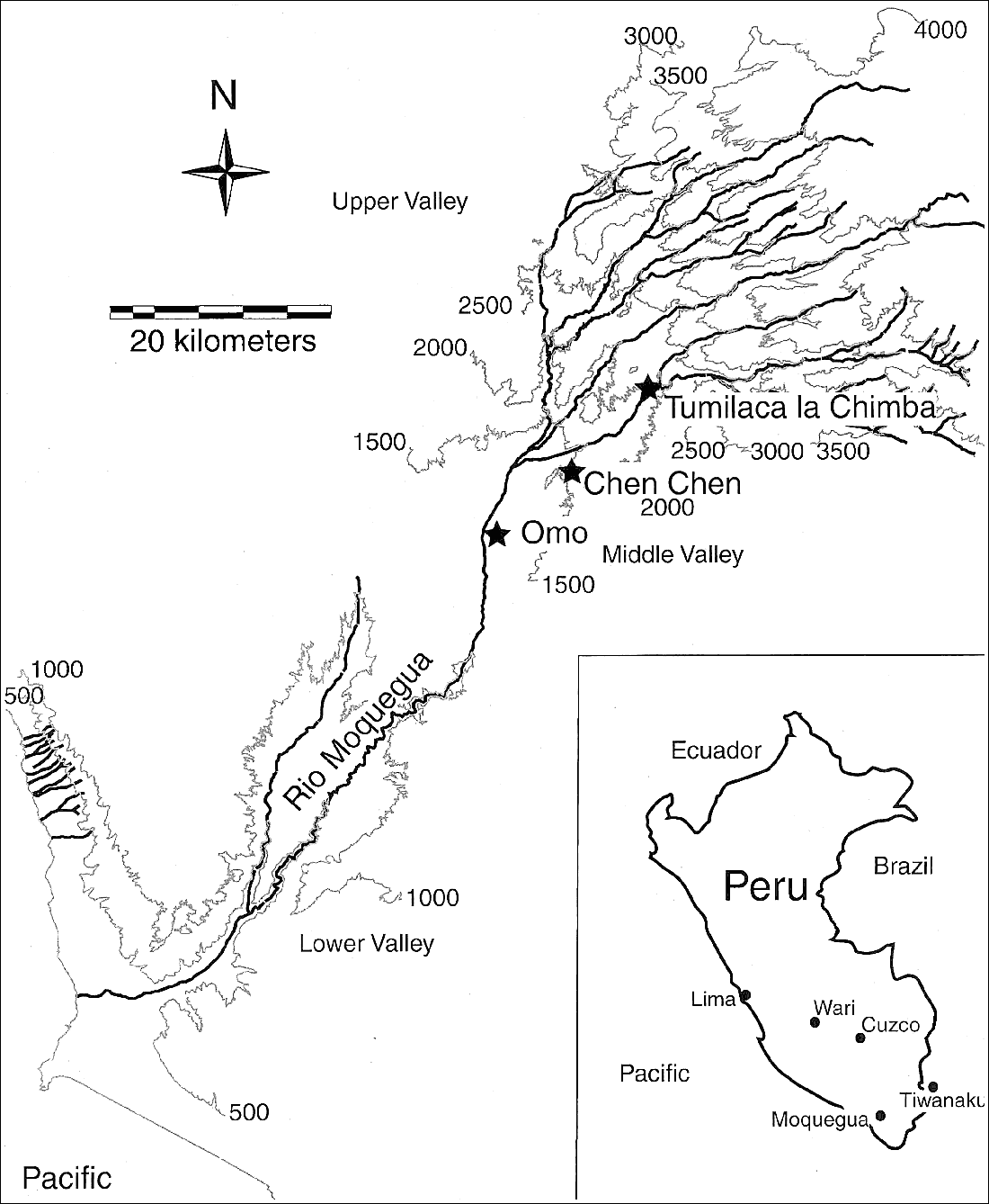 Fig. 1: The Moquegua Valley.
