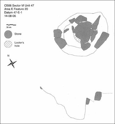 Fig. 5: Unlined tomb (Williams et al. 2006–2007)