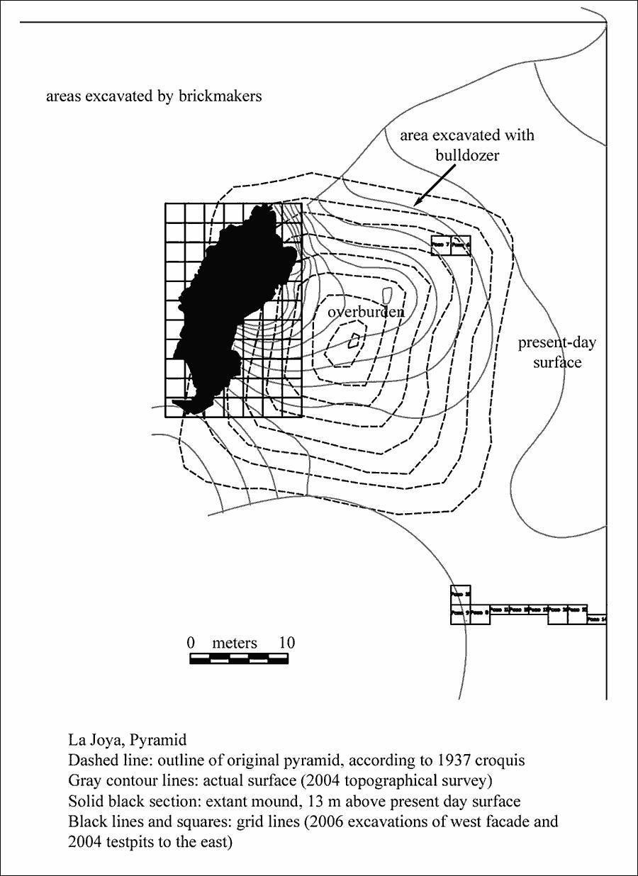 Fig. 3: La Joya Pyramid (Daneels 2007–2008)