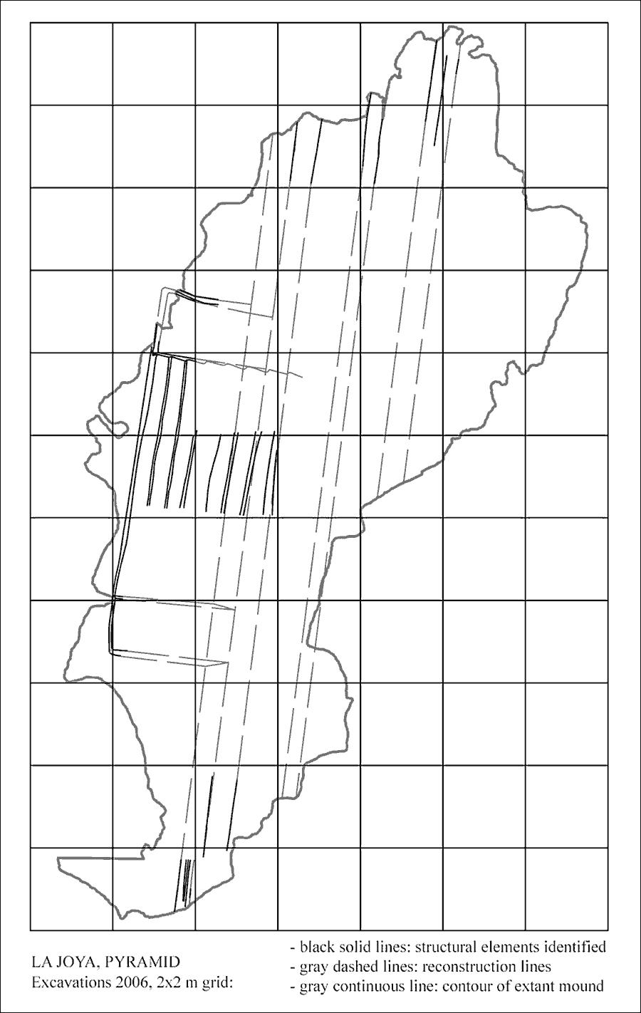 Fig. 4: La Joya Pyramid (Daneels 2007–2008)