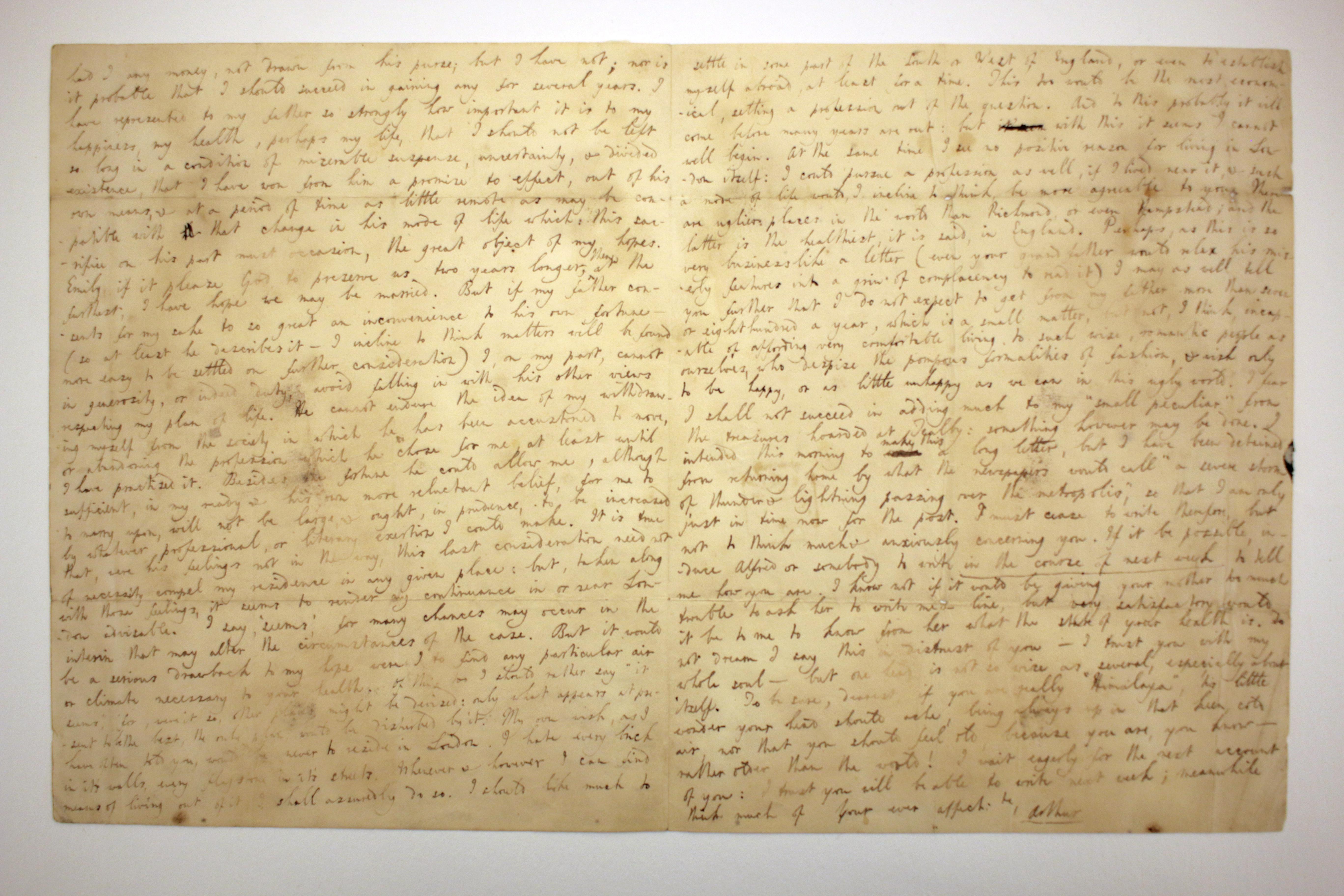 Hallam Letter, June 9, 1832, 2