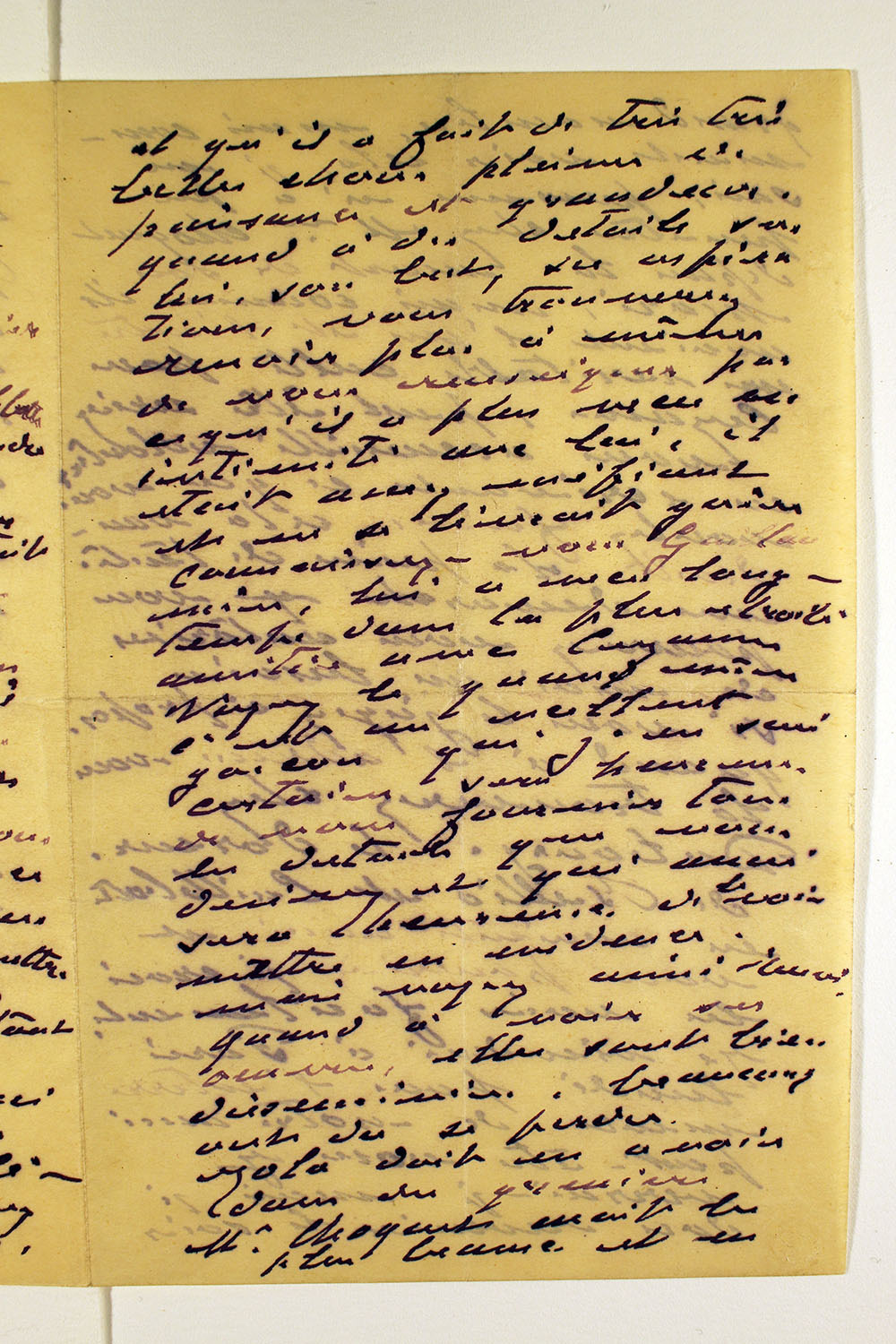 Page two of letter from Claude Monet to unknown recipient, February 24, 1894