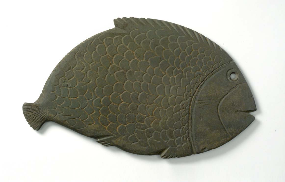 BZ.1927.2, Palette in the Shape of a Fish