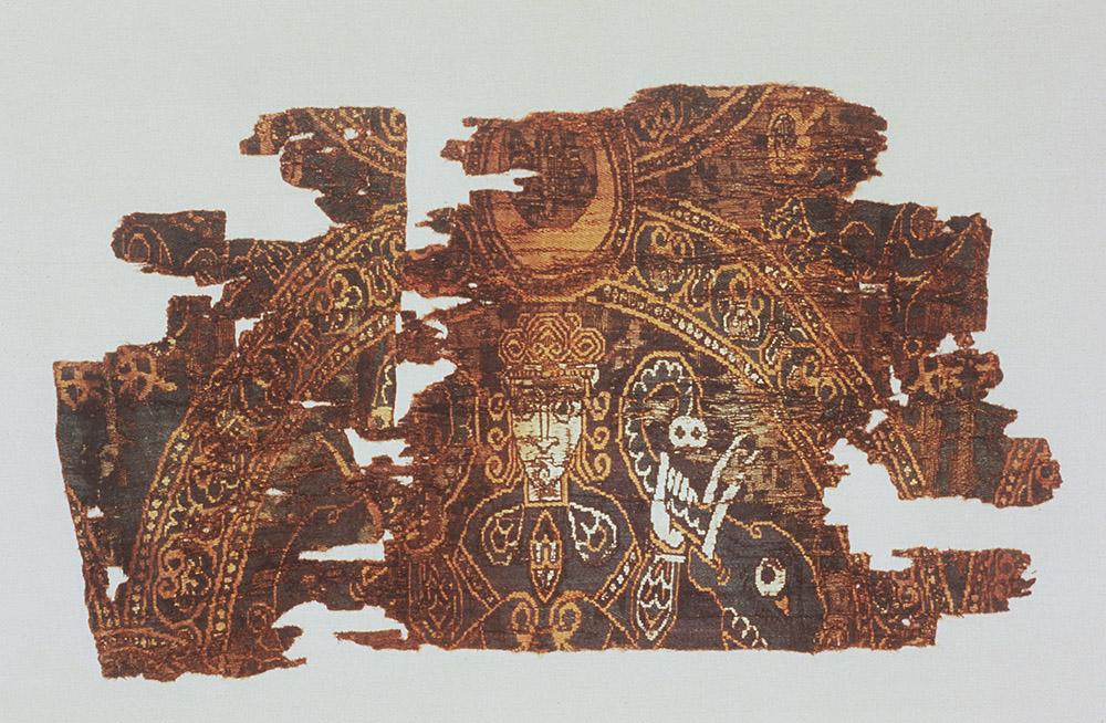BZ.1927.1, Elephant Tamer Textile Fragment