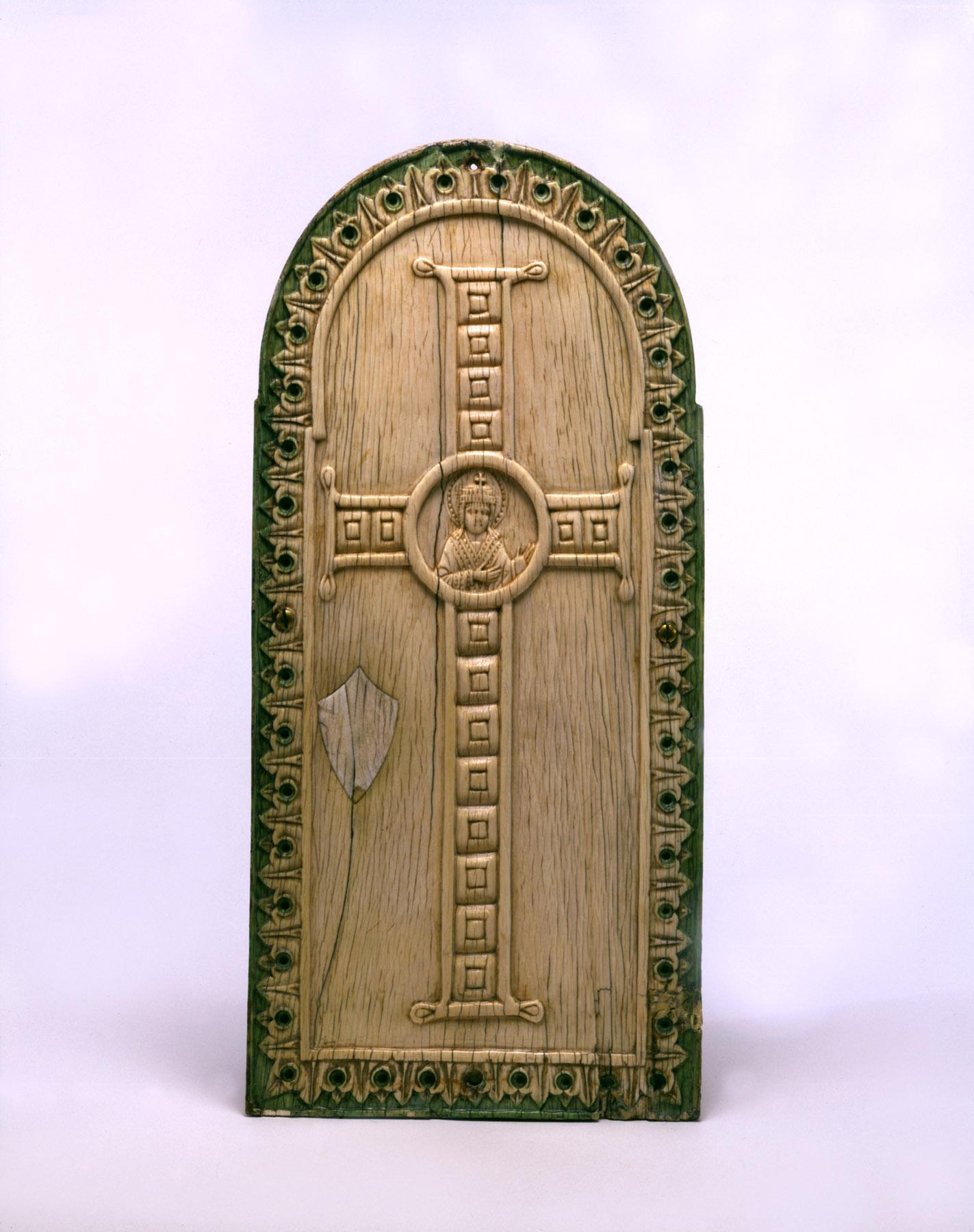 BZ.1937.18, Jeweled Cross Ivory