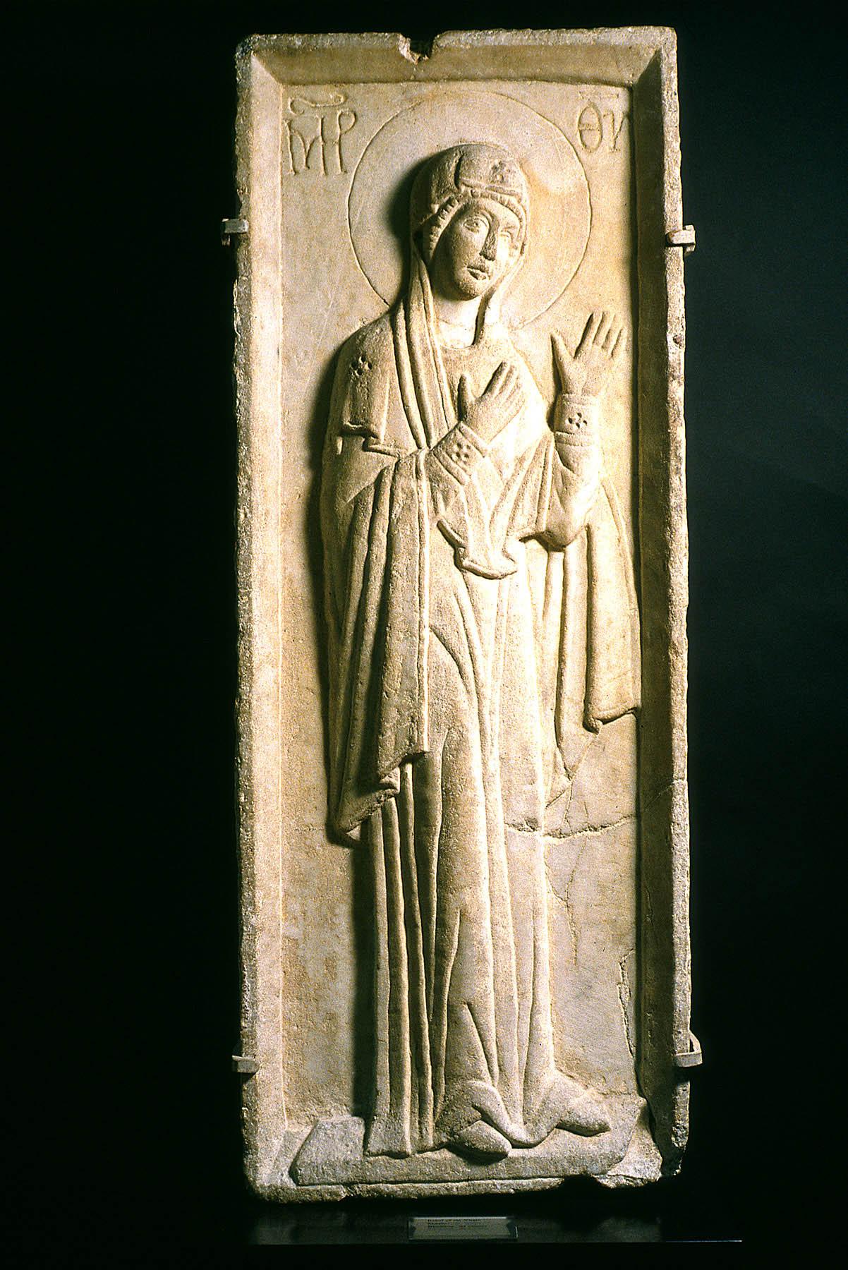 BZ.1938.62, Virgin Hagiosoritissa Relief