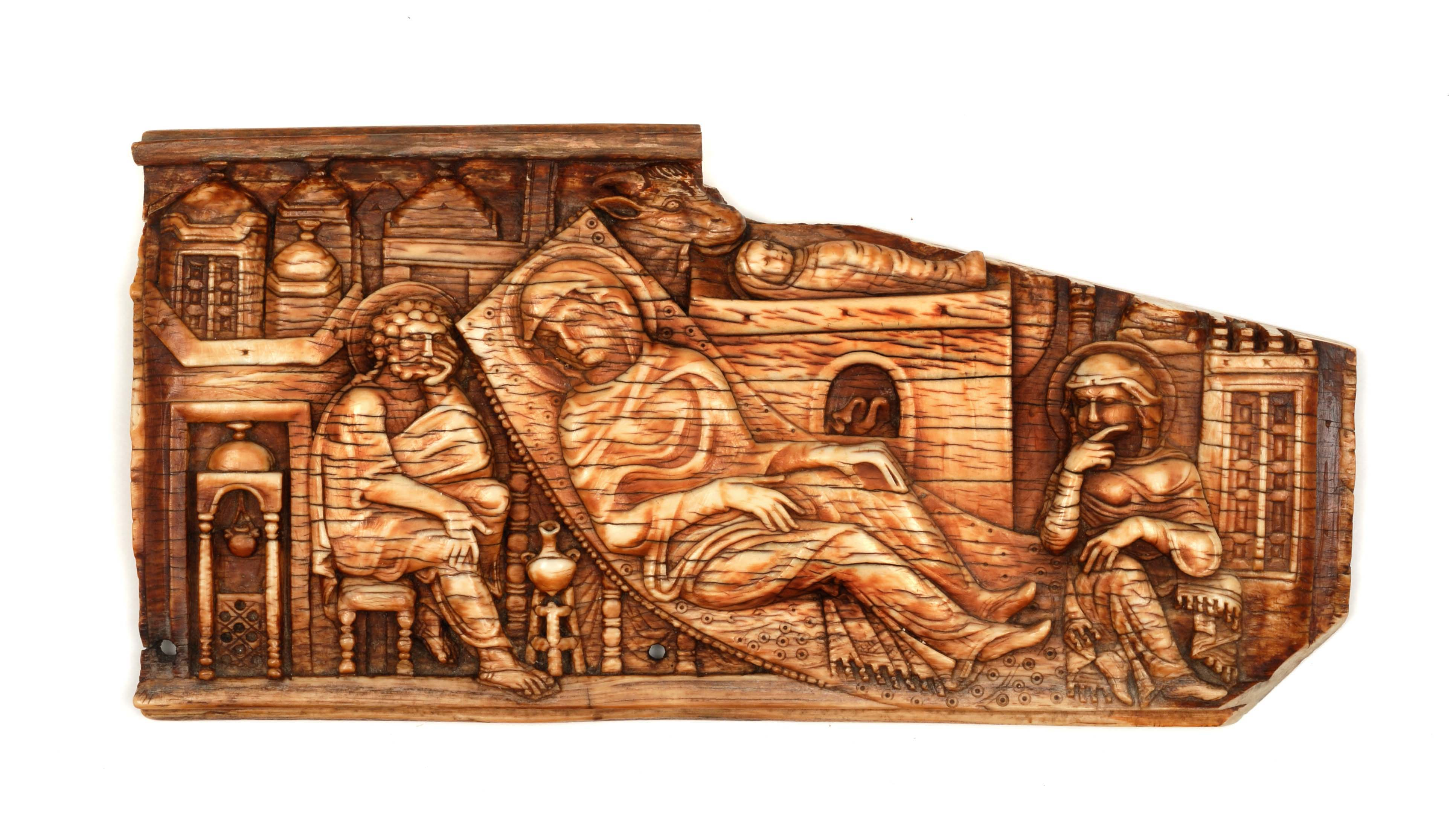 BZ.1951.30, Plaque with Nativity