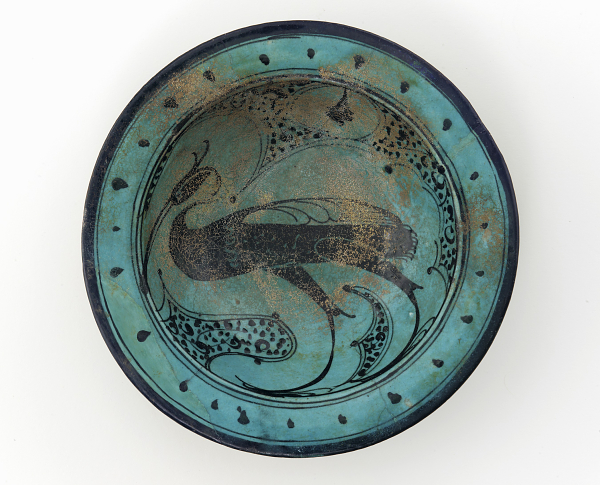 Ex.Coll.HC.C.1912.04.(TC), Dish with Heron