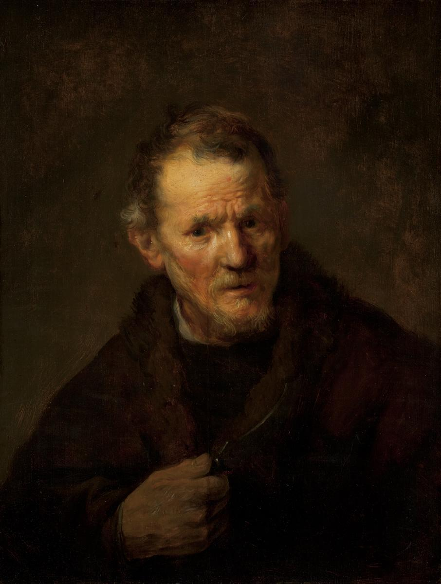 Ex.Coll.HC.P.1920.04.(O), St. Bartholomew (Portrait of the Artist's Father)
