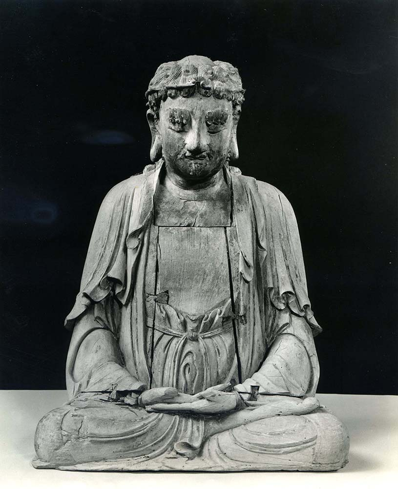 Ex.Coll.HC.S.1923.02.(W), Seated Sakyamuni Buddha in Contemplation