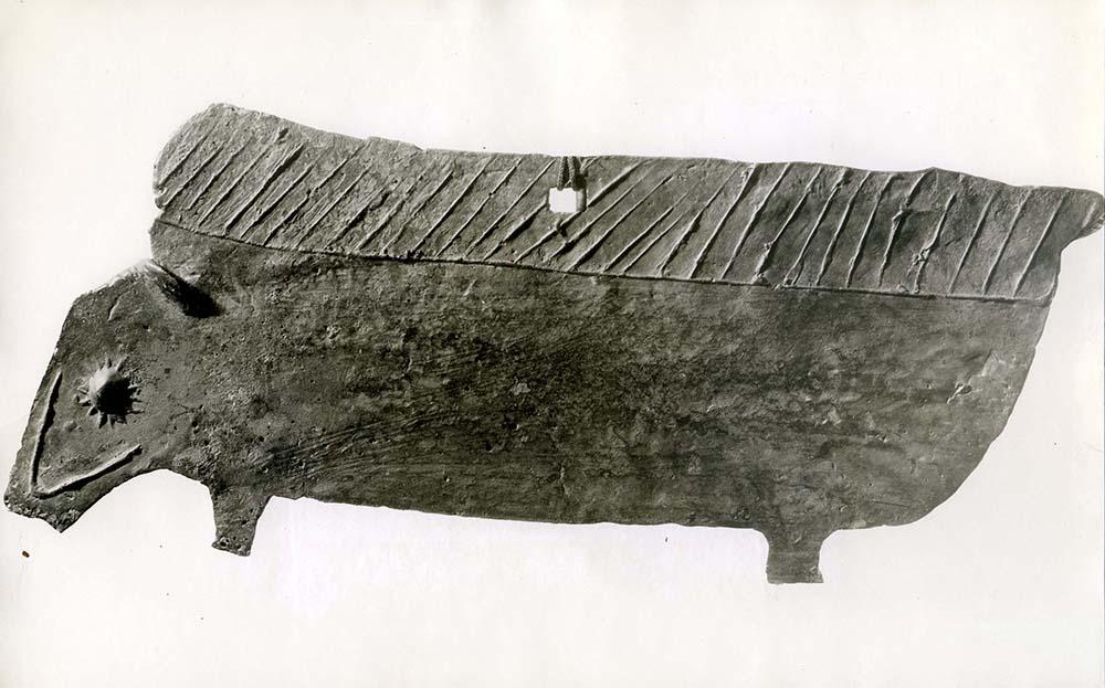 Ex.Coll.HC.S.1926.03.(B), Porcupine Gong
