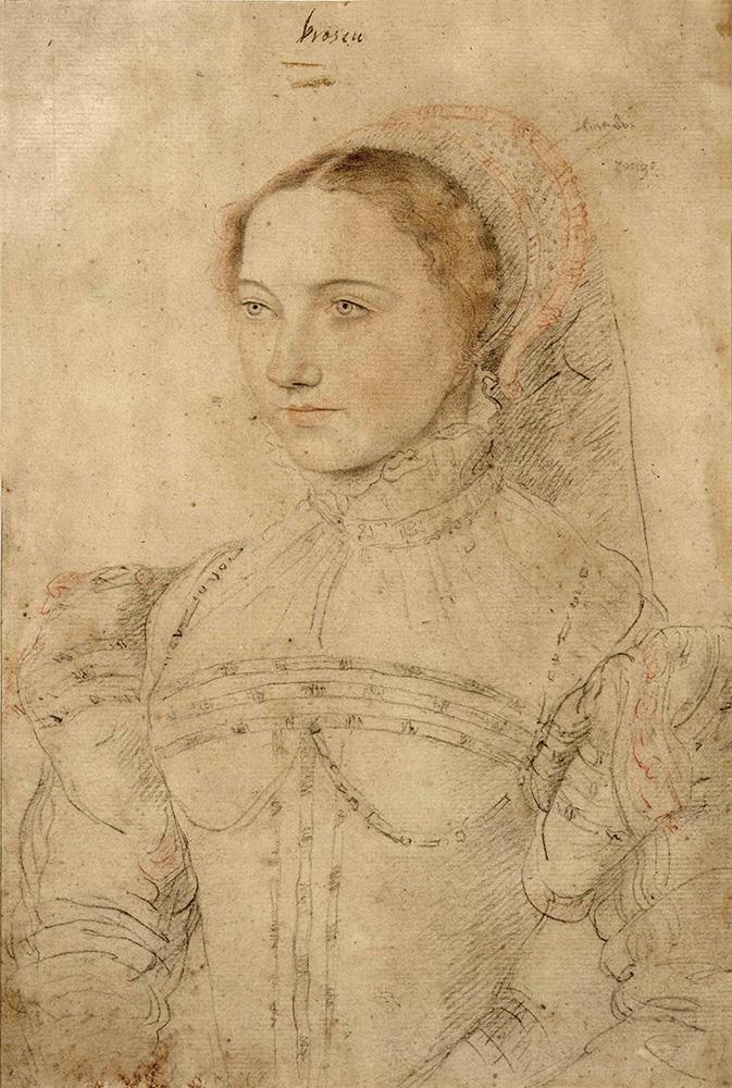HC.D.1921.05.(Cr), Portrait of a Lady