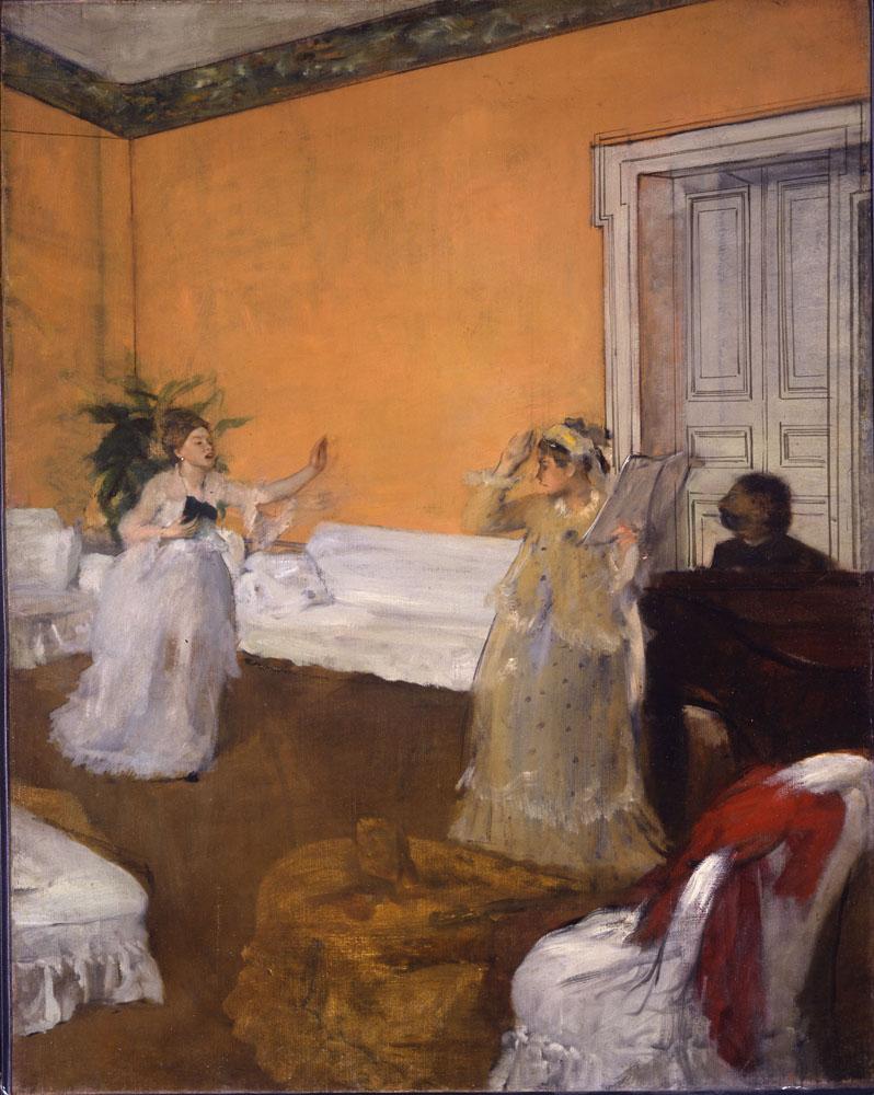 HC.P.1918.02.(O), The Song Rehearsal