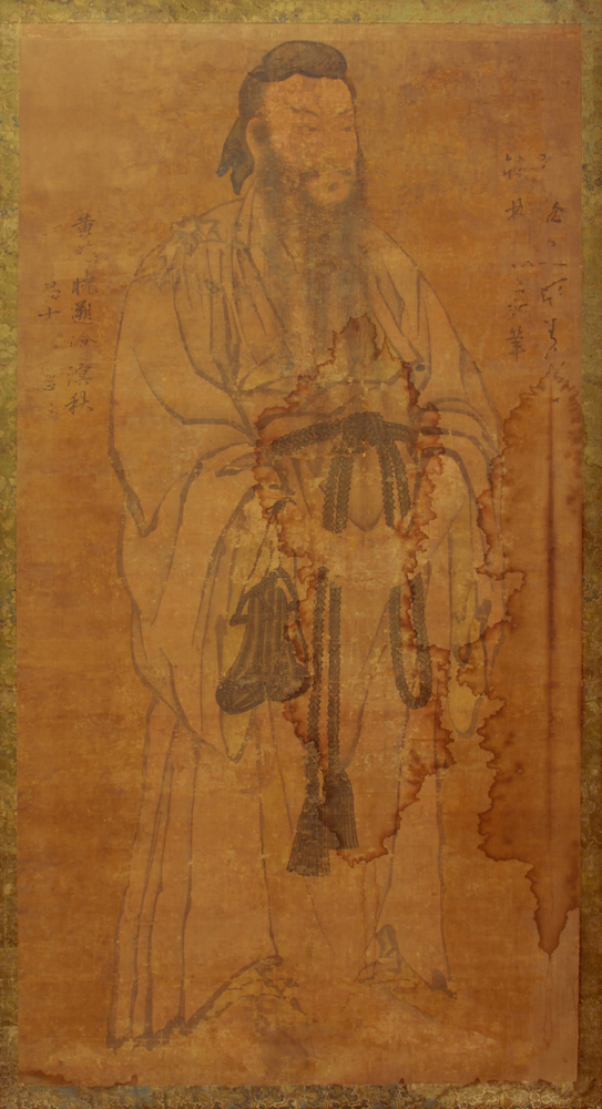 HC.P.1919.03.(WC), Portrait of Lü Tung-Pin (Lü Yen)