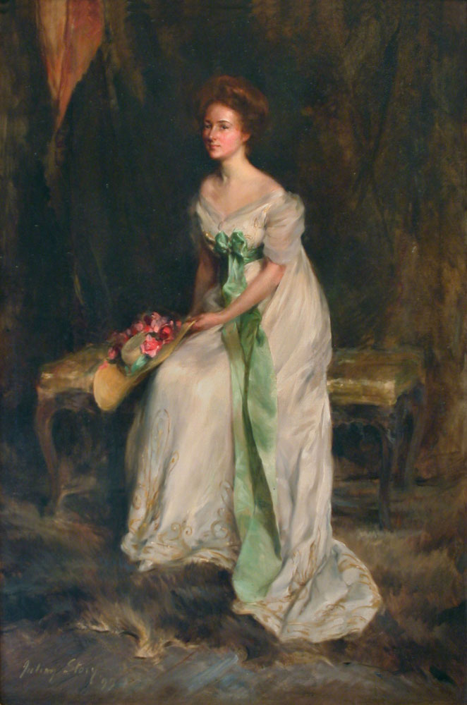 HC.P.1980.07.(O), Portrait of Mildred Barnes Bliss