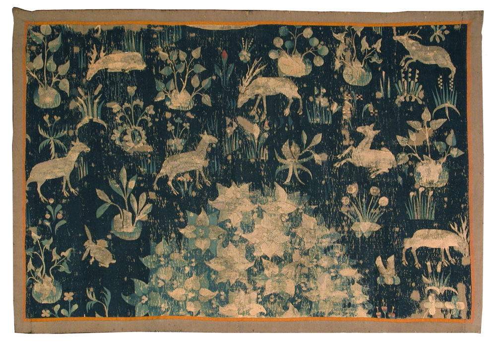 HC.T.1913.04.(T), Animals and Flowers
