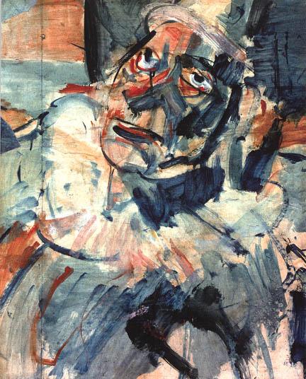 HC.P.1938.04.(O), Head of a Clown