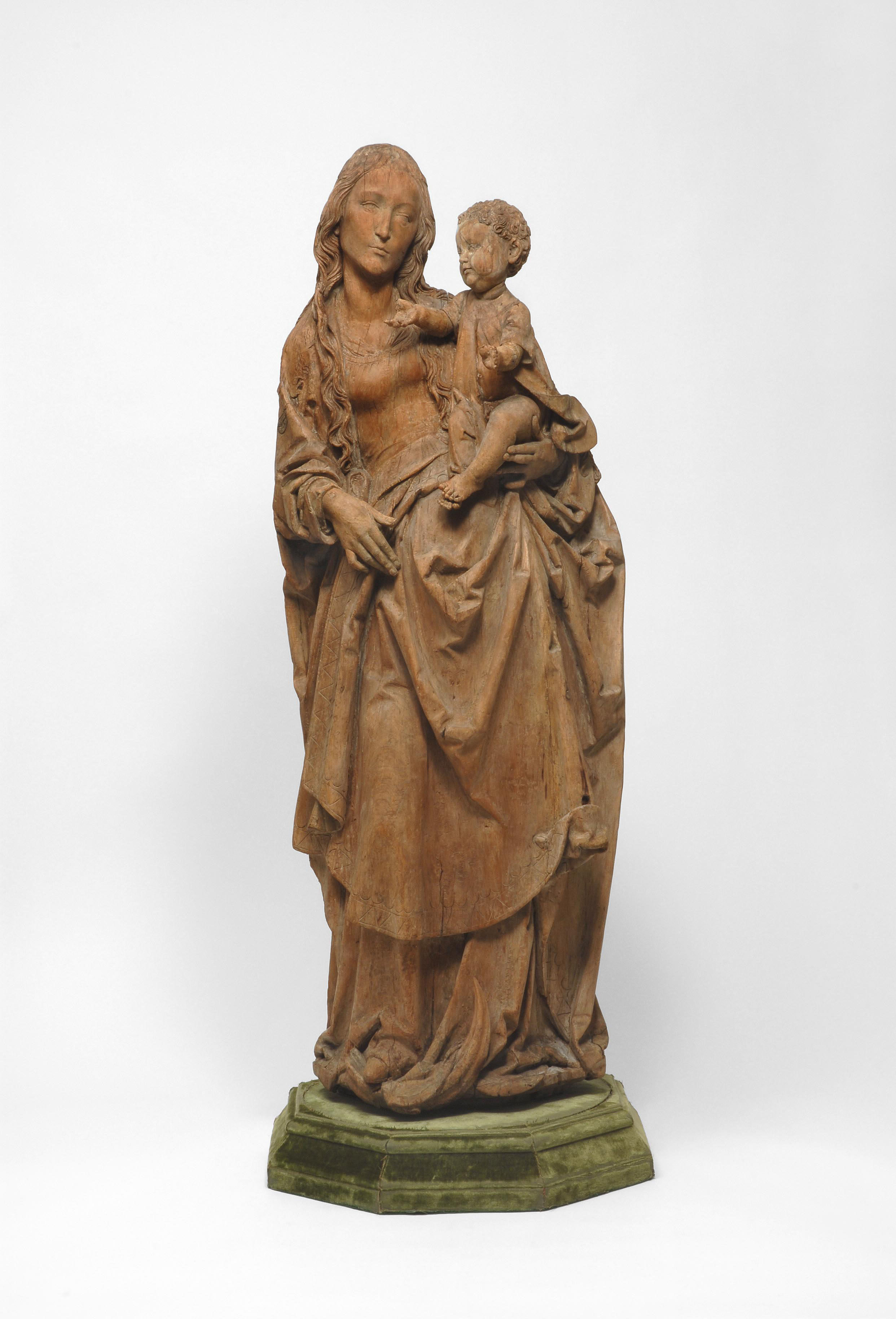HC.S.1937.006.(W), Virgin and Child on the Crescent Moon