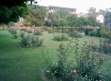 Garden of Ali Mardan Khan in Peshawar, Pakistan.