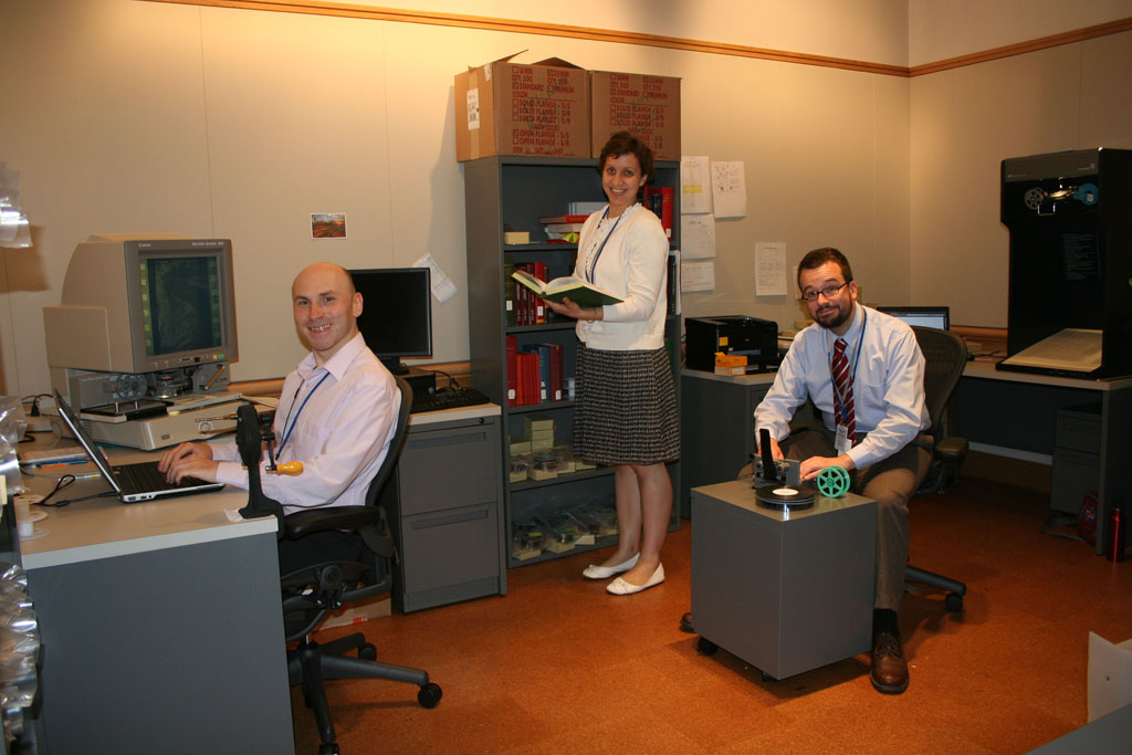 microfilm interns