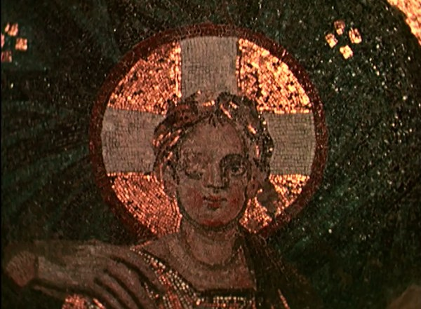 Hagia Sophia: Apse Mosaic of Virgin and Child