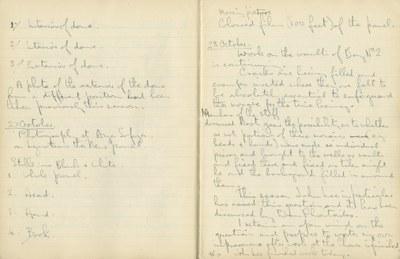 Ernest Hawkins: Notebook Entry for October 27, 1948