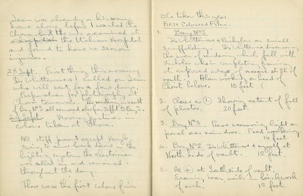 Ernest Hawkins: Notebook Entry for September 29, 1948