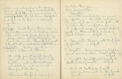 Ernest Hawkins: Notebook Entry for September 29, 1948