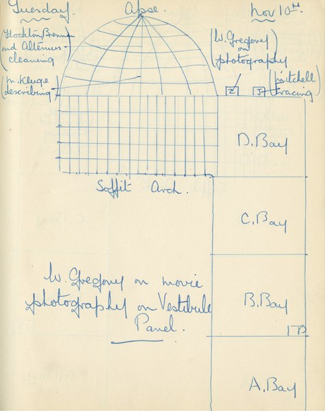 William John Gregory: Notebook Entry for November 10, 1936