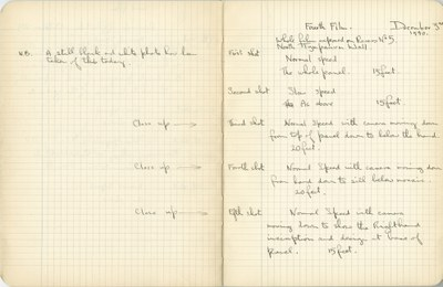 Ernest Hawkins: Notebook Entry for December 3, 1940