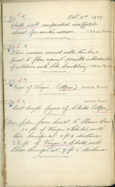 Author unknown: Notebook Entry for October 2, 1939