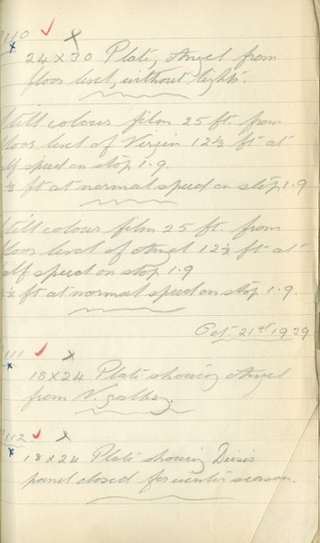 Author Unknown: Notebook Entry for October 20, 1939